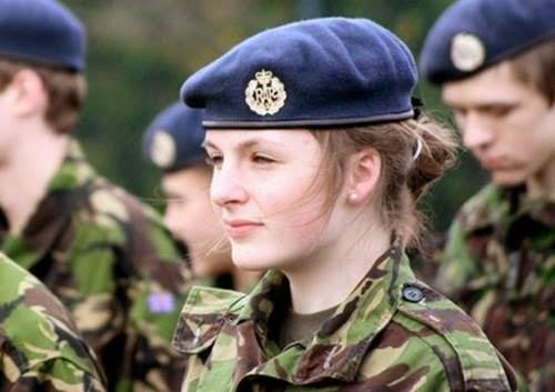 Prajurit militer wanita inggris (blogspot)