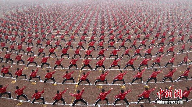 Sekolah sepak bola kung fu (China News)