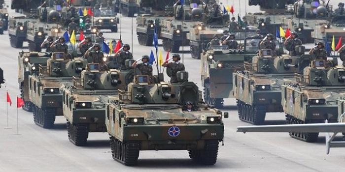 5 Negara Asia dengan Militer Terkuat