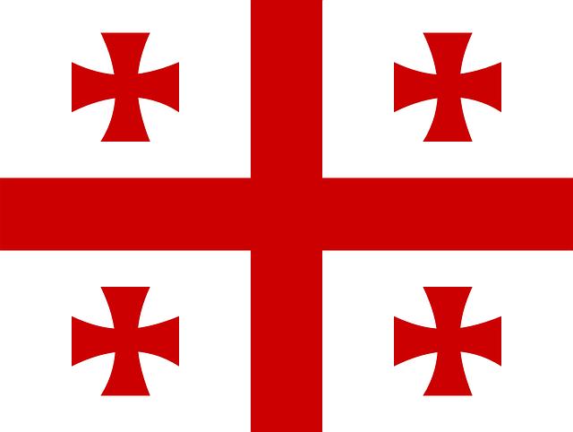 Bendera Georgia (Pixabay)