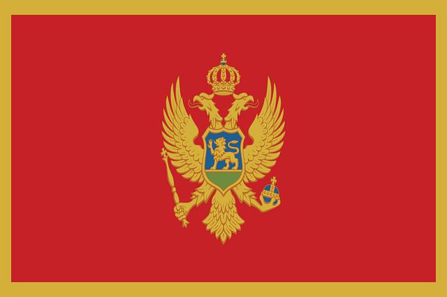 Bendera Republik Montenegro (Pixabay)