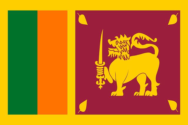 Bendera Sri Lanka (Pixabay)