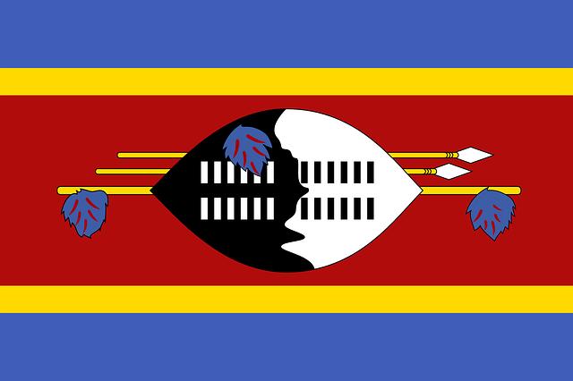 Bendera Swaziland (Pixabay)