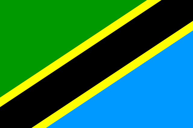 Bendera Tanzania (Pixabay)