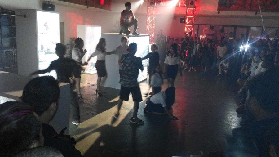 Atraksi di Red Bull Launching Party (jadiberita.com)