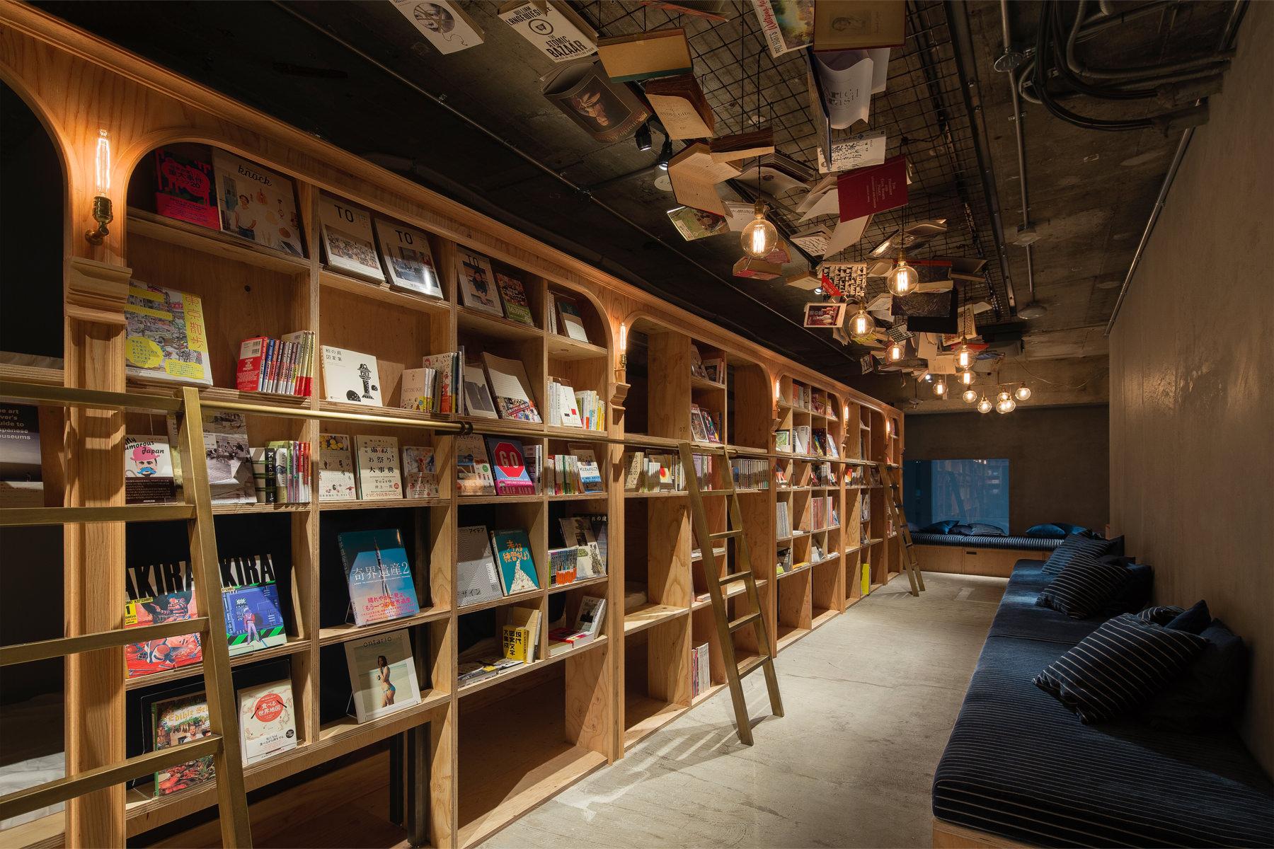 Tokyo Hadirkan Hotel Khusus Bagi Para Kutu Buku