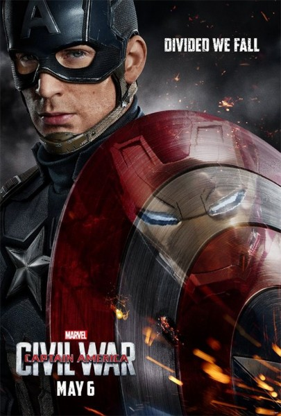 Poster film Captain America: Civil War (Muvila)