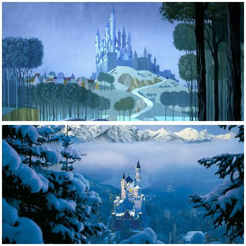 Kastil di film Sleeping Beauty (Disney)