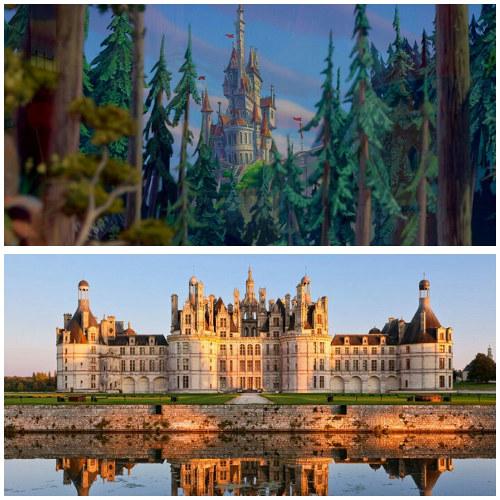 Lokasi film Beauty and the Beast (Disney)