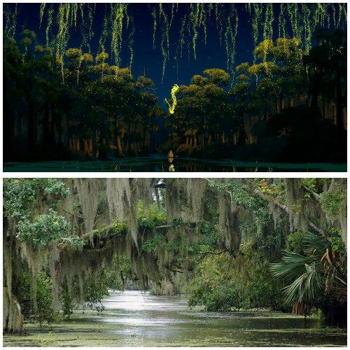 Lokasi film The Princess and the Frog (Disney)