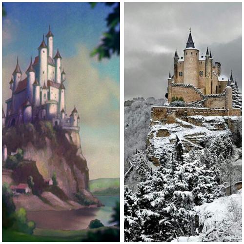 Lokasi film Snow White (Disney)