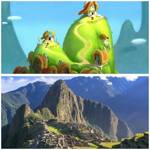 Lokasi film Emperor's New Groove (Disney)