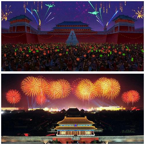Lokasi film Mulan (Disney)
