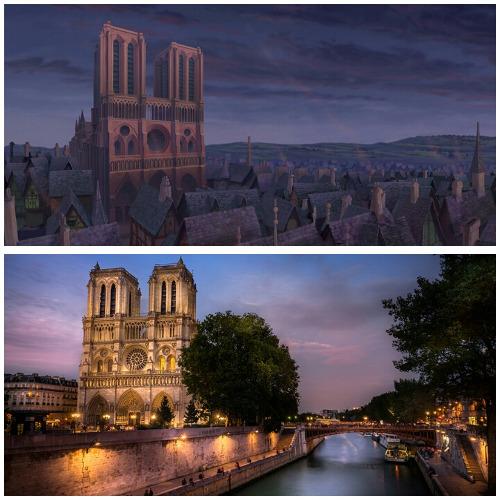 Lokasi film The Hunchback Of Notre Dame (Disney)