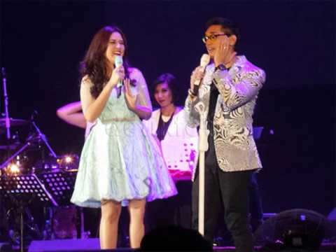 Afgan dan Raisa (youtube)