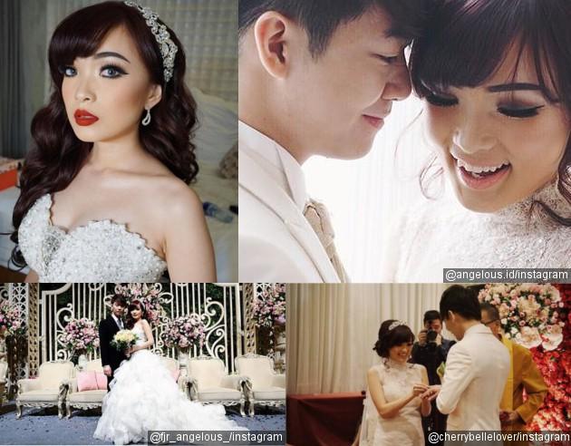 Pernikahan Angel dan Aming (Instagram)