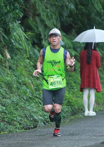 'Hantu' di lintasan maraton (Daily Mail)