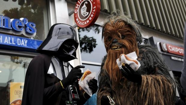 Intip Santapan Favorit Para Tokoh Karakter Star Wars