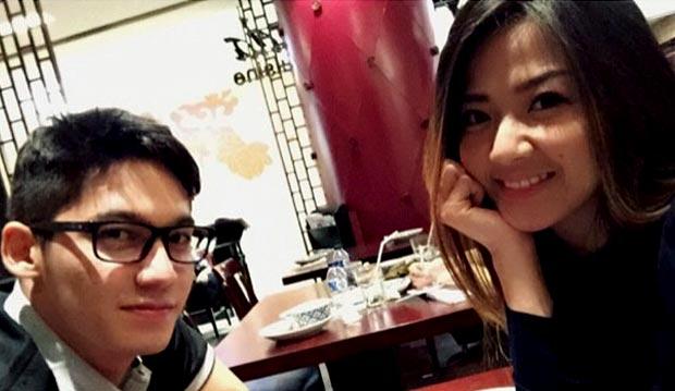 Samuel dan Franda (instagram)