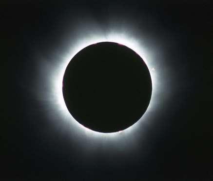 Gerhana matahari total (Getty Images)
