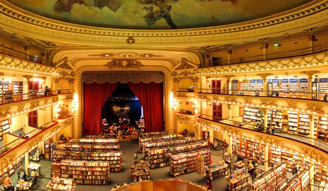 Toko Buku Termegah di Dunia Ada di Argentina