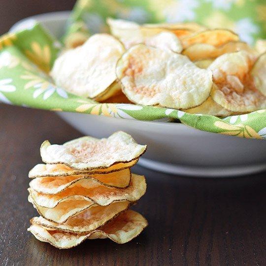 Keripik kentang dimasak dengan microwave (www.thekitchn.com)
