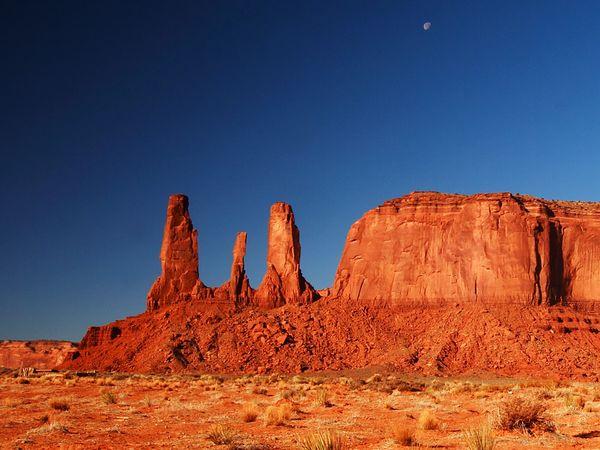 Pemandangan di Arizona (National Geographic)