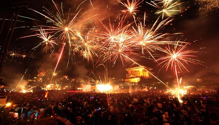 Pesta Kembang Api Termahal di Dunia, Habiskan Miliaran Rupiah
