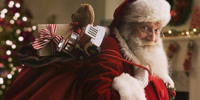 Santa Claus bawa hadiah (Huffingtonpost)