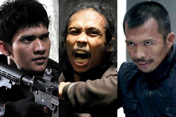 Tiga aktor The Raid (Aceshowbiz)