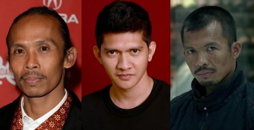 Tiga aktor The Raid (Movieexplorers)