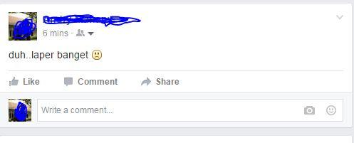 Update Status (facebook)