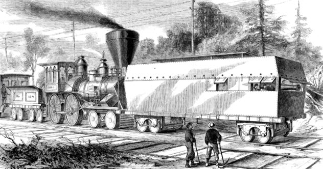 Armored Trains (William C. Russell)