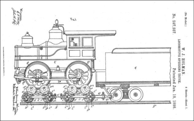 Holman Train (USPTO)