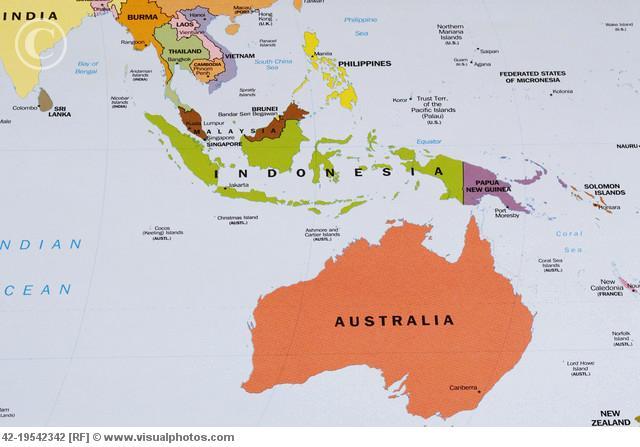 Indonesia dan negara di sekitarnya (Viruspintar)