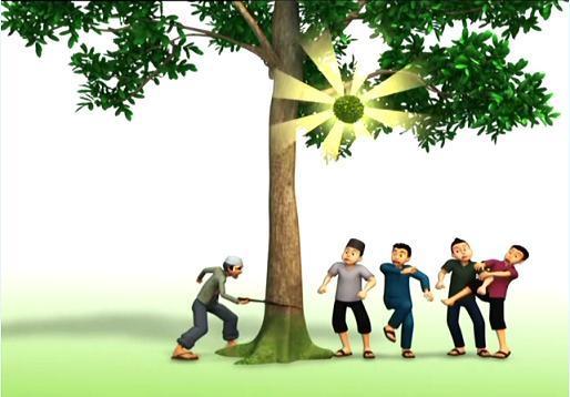 Kisah Kampung Durian Runtuh (Upinipinwikia)