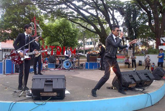 The Changcuters di Taman Musik Centrum (Cikalnews)