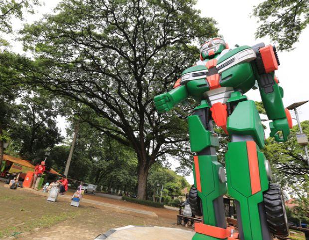 Transformers di Taman Cibeunying (Galamedia)