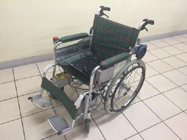 Penampakan kursi roda (Detik)