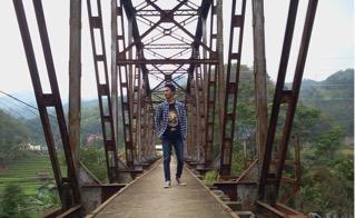 Jembatan Sadu/Jembatan Oeroeg Ciwidey