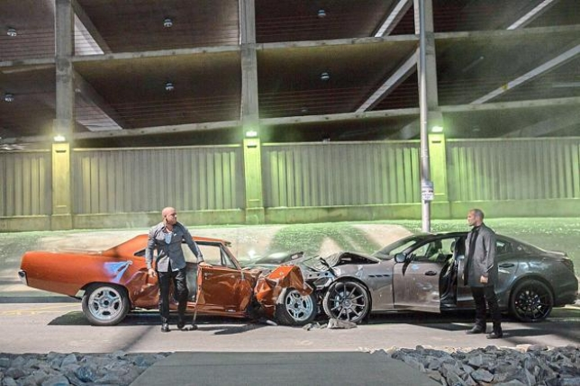 Adegan film Fast & Furious 7 (Autoblog)