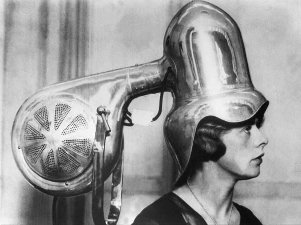 Pengering rambut zaman dulu (Mshcdn)
