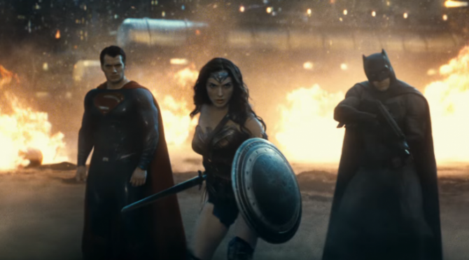 Batman, Superman dan Wonder Woman (Warner Bros)