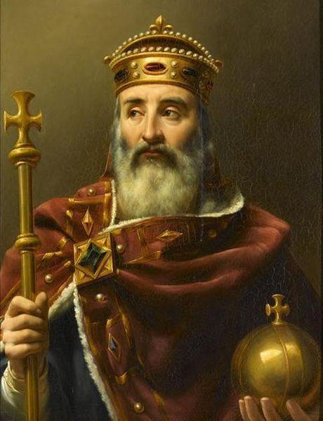 Charlemagne (Pinterest)