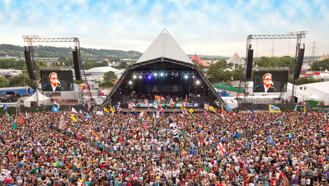 Glastonbury Festival, Inggris (www.glastoguide.co.uk)