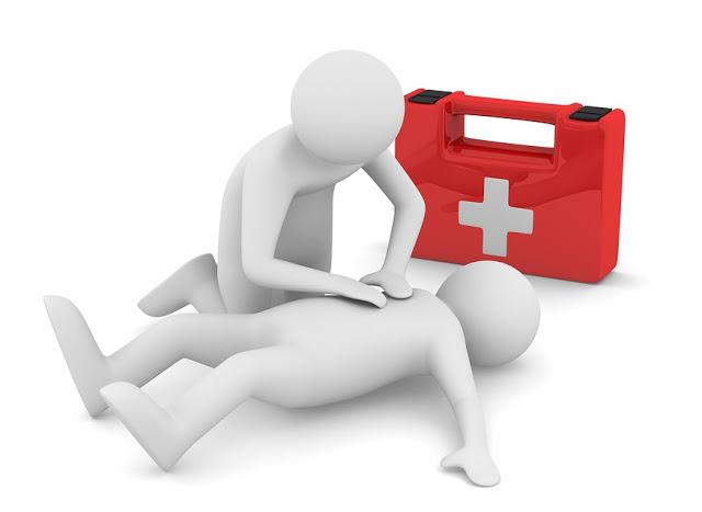 Ilustrasi pertolongan pertama (Okipos)