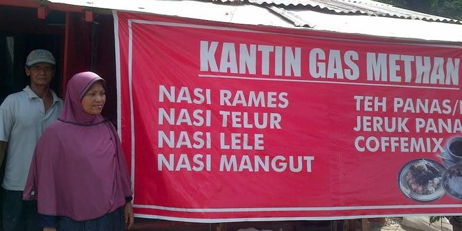 Kantin Gas Methan (Merdeka)