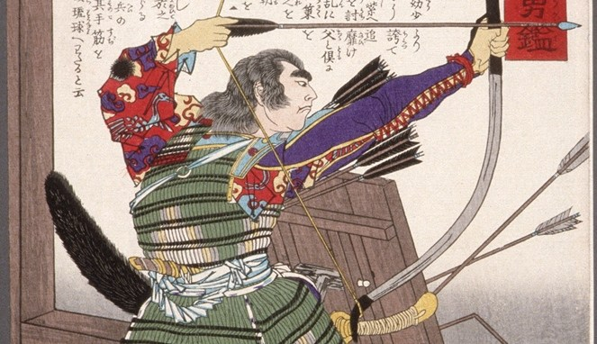 Minamoto Tametomo (Lacma)