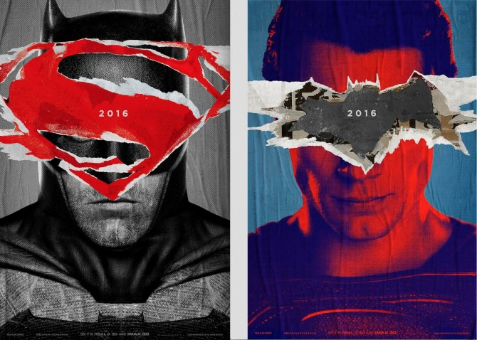 Poster Batman v Superman (Forbes)