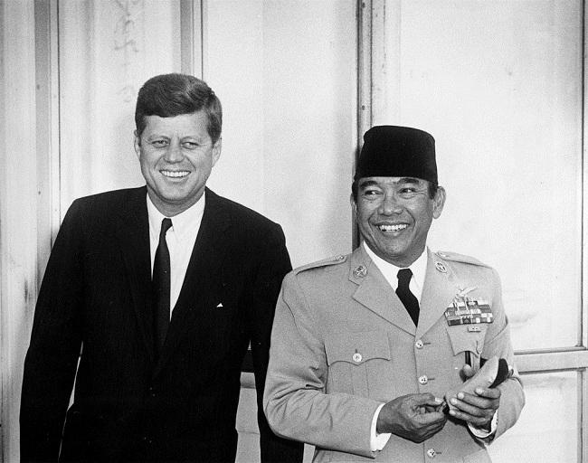 Sukarno bersama John F. Kennedy (Jfklibrary)